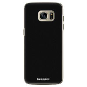 Plastové pouzdro iSaprio 4Pure černé na mobil Samsung Galaxy S7 Edge