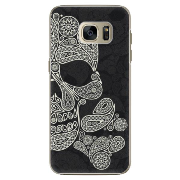 Plastové pouzdro iSaprio Mayan Skull na mobil Samsung Galaxy S7 Edge (Plastový obal, kryt, pouzdro iSaprio Mayan Skull na mobilní telefon Samsung Galaxy S7 Edge)