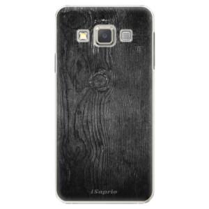 Plastové pouzdro iSaprio Black Wood 13 na mobil Samsung Galaxy A3