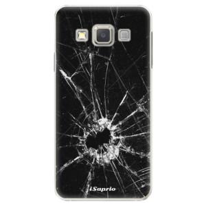 Plastové pouzdro iSaprio Broken Glass 10 na mobil Samsung Galaxy A3