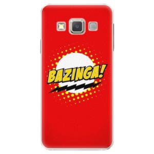 Plastové pouzdro iSaprio Bazinga 01 na mobil Samsung Galaxy A3
