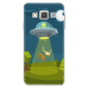 Plastové pouzdro iSaprio Alien 01 na mobil Samsung Galaxy A3