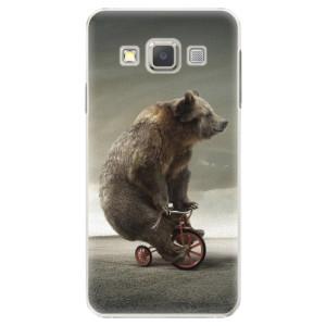 Plastové pouzdro iSaprio Bear 01 na mobil Samsung Galaxy A3