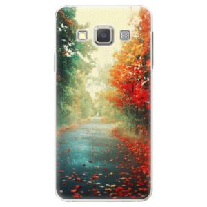 Plastové pouzdro iSaprio Autumn 03 na mobil Samsung Galaxy A3