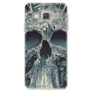 Plastové pouzdro iSaprio Abstract Skull na mobil Samsung Galaxy A3