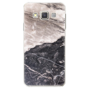 Plastové pouzdro iSaprio BW Marble na mobil Samsung Galaxy A3