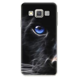 Plastové pouzdro iSaprio Black Puma na mobil Samsung Galaxy A3