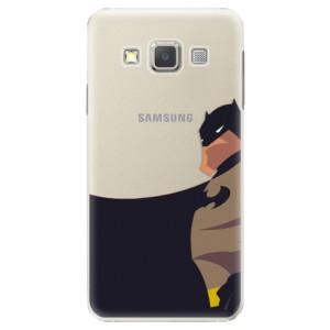 Plastové pouzdro iSaprio BaT Comics na mobil Samsung Galaxy A3