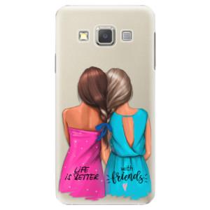 Plastové pouzdro iSaprio Best Friends na mobil Samsung Galaxy A3