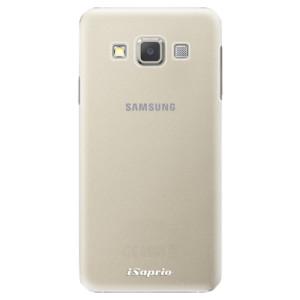Plastové pouzdro iSaprio 4Pure mléčné bez potisku na mobil Samsung Galaxy A3