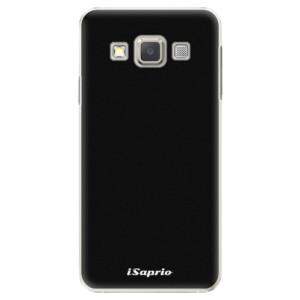 Plastové pouzdro iSaprio 4Pure černé na mobil Samsung Galaxy A3