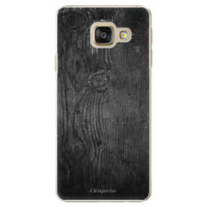 Plastové pouzdro iSaprio Black Wood 13 na mobil Samsung Galaxy A3 2016