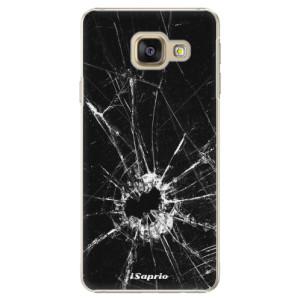 Plastové pouzdro iSaprio Broken Glass 10 na mobil Samsung Galaxy A3 2016