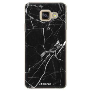 Plastové pouzdro iSaprio Black Marble 18 na mobil Samsung Galaxy A3 2016
