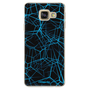 Plastové pouzdro iSaprio Abstract Outlines 12 na mobil Samsung Galaxy A3 2016