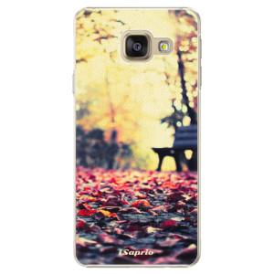 Plastové pouzdro iSaprio Bench 01 na mobil Samsung Galaxy A3 2016