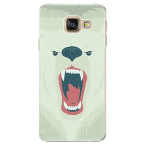 Plastové pouzdro iSaprio Angry Bear na mobil Samsung Galaxy A3 2016