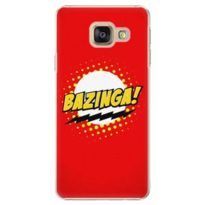 Plastové pouzdro iSaprio Bazinga 01 na mobil Samsung Galaxy A3 2016