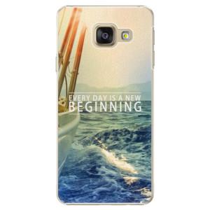 Plastové pouzdro iSaprio Beginning na mobil Samsung Galaxy A3 2016