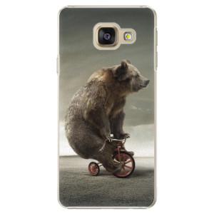 Plastové pouzdro iSaprio Bear 01 na mobil Samsung Galaxy A3 2016