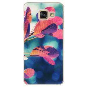 Plastové pouzdro iSaprio Autumn 01 na mobil Samsung Galaxy A3 2016