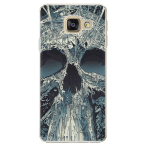 Plastové pouzdro iSaprio Abstract Skull na mobil Samsung Galaxy A3 2016