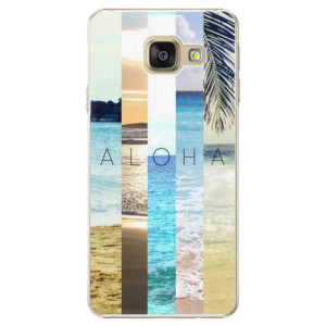 Plastové pouzdro iSaprio Aloha 02 na mobil Samsung Galaxy A3 2016