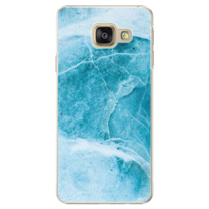 Plastové pouzdro iSaprio Blue Marble na mobil Samsung Galaxy A3 2016