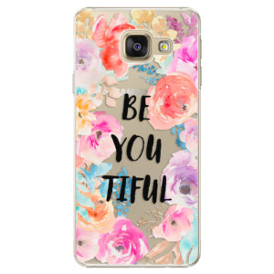 Plastové pouzdro iSaprio BeYouTiful na mobil Samsung Galaxy A3 2016