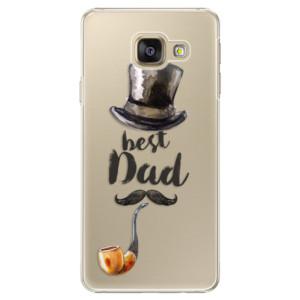 Plastové pouzdro iSaprio Best Dad na mobil Samsung Galaxy A3 2016