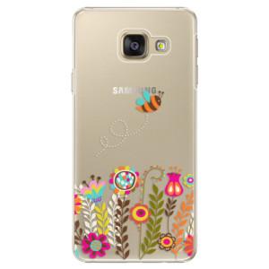 Plastové pouzdro iSaprio Bee 01 na mobil Samsung Galaxy A3 2016