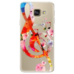 Plastové pouzdro iSaprio Music 01 na mobil Samsung Galaxy A3 2016