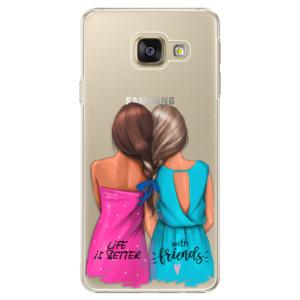 Plastové pouzdro iSaprio Best Friends na mobil Samsung Galaxy A3 2016