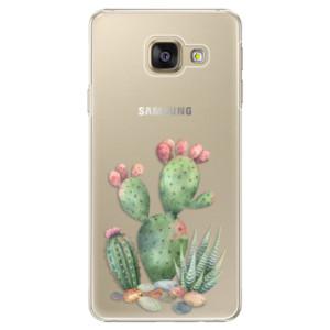 Plastové pouzdro iSaprio Cacti 01 na mobil Samsung Galaxy A3 2016