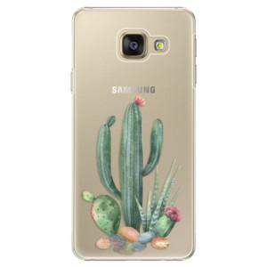 Plastové pouzdro iSaprio Cacti 02 na mobil Samsung Galaxy A3 2016