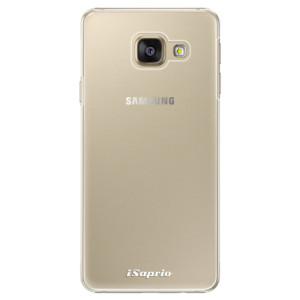 Plastové pouzdro iSaprio 4Pure mléčné bez potisku na mobil Samsung Galaxy A3 2016
