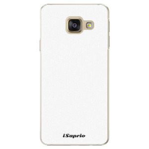 Plastové pouzdro iSaprio 4Pure bílé na mobil Samsung Galaxy A3 2016