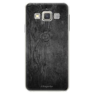 Plastové pouzdro iSaprio Black Wood 13 na mobil Samsung Galaxy A5