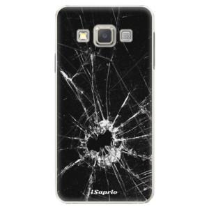 Plastové pouzdro iSaprio Broken Glass 10 na mobil Samsung Galaxy A5