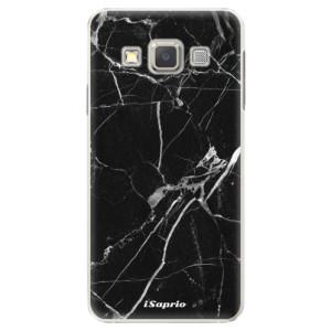 Plastové pouzdro iSaprio Black Marble 18 na mobil Samsung Galaxy A5