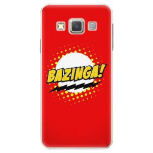 Plastové pouzdro iSaprio Bazinga 01 na mobil Samsung Galaxy A5