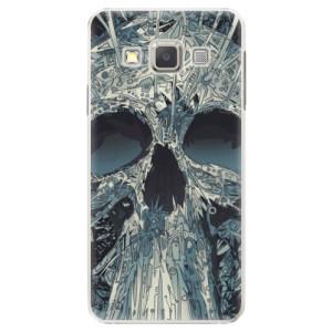 Plastové pouzdro iSaprio Abstract Skull na mobil Samsung Galaxy A5