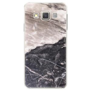 Plastové pouzdro iSaprio BW Marble na mobil Samsung Galaxy A5