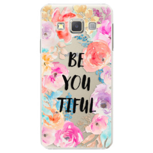 Plastové pouzdro iSaprio BeYouTiful na mobil Samsung Galaxy A5
