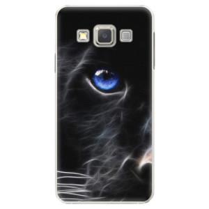 Plastové pouzdro iSaprio Black Puma na mobil Samsung Galaxy A5
