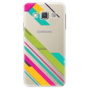Plastové pouzdro iSaprio Color Stripes 03 na mobil Samsung Galaxy A5