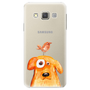 Plastové pouzdro iSaprio Dog And Bird na mobil Samsung Galaxy A5