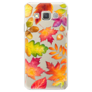 Plastové pouzdro iSaprio Autumn Leaves 01 na mobil Samsung Galaxy A5