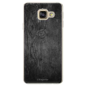 Plastové pouzdro iSaprio Black Wood 13 na mobil Samsung Galaxy A5 2016