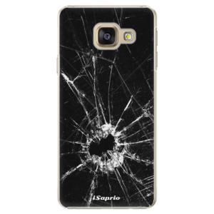 Plastové pouzdro iSaprio Broken Glass 10 na mobil Samsung Galaxy A5 2016